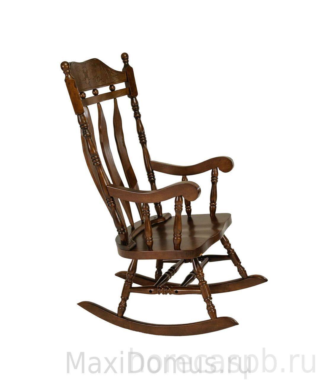 кресло качалка деревянная кантри артикул 4768т купить с